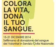 Settimana di donazione volontari in Servizio Civile Nazionale