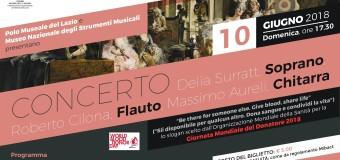 Concerto Domenica 10 Giugno 2018, in occasione della Giornata Mondiale del Donatore – Museo Nazionale degli Strumenti Musicali