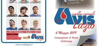 Sabato 4 maggio, Assemblea Avis Regionale Lazio