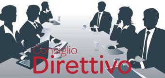 Convocazione straordinaria del Consiglio Direttivo
