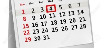 Calendario attività Avis Regionale Lazio: Settembre – Ottobre 2019
