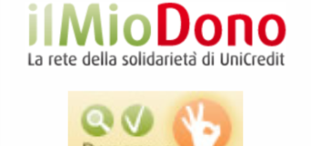 """Il 4 Dicembre riparte l'iniziativa de """"Il mio Dono"""""""