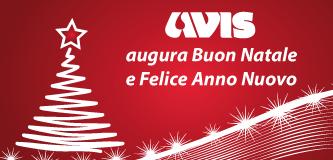 Auguri di buone feste da Avis Regionale Lazio
