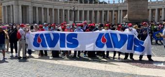 I saluti del Papa ai donatori di sangue